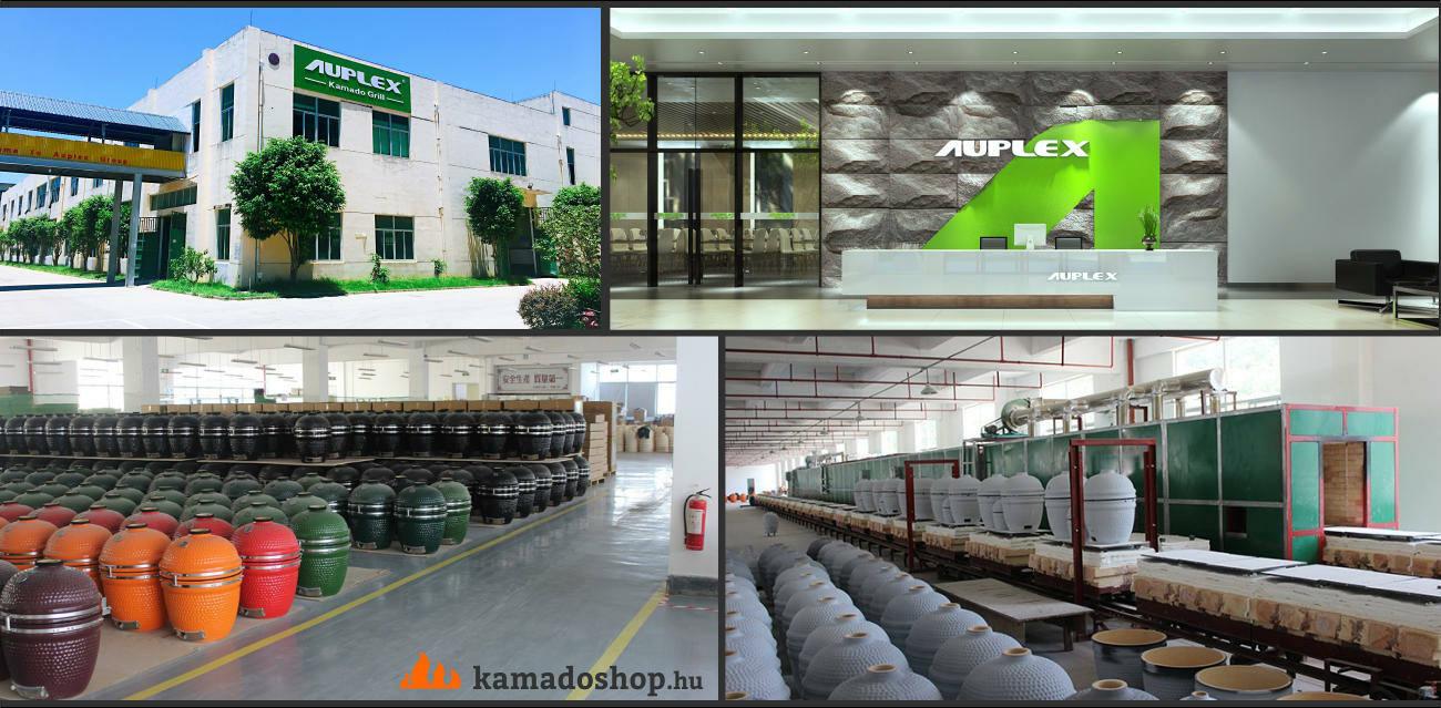 Auplex kamado gyár