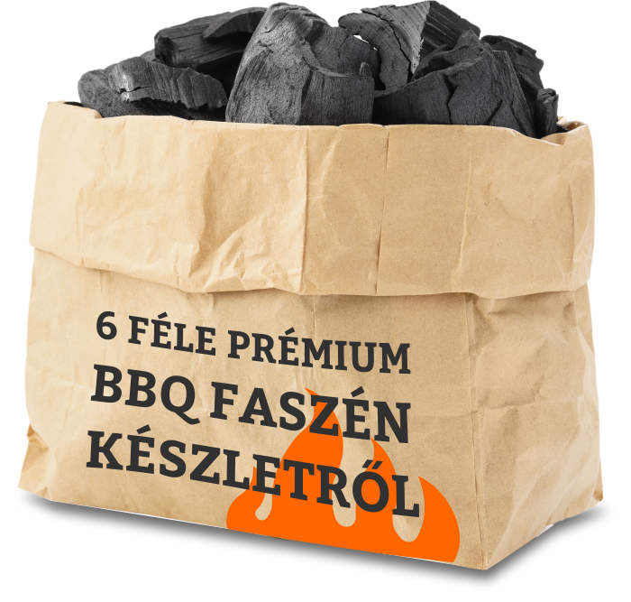 BBQ prémium faszén