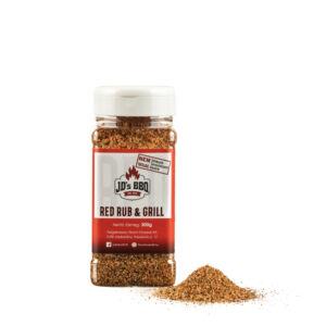 JD's RED RUB & GRILL fűszerkeverék
