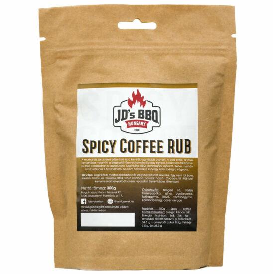 JD's Spicy Coffee Rub 100g
