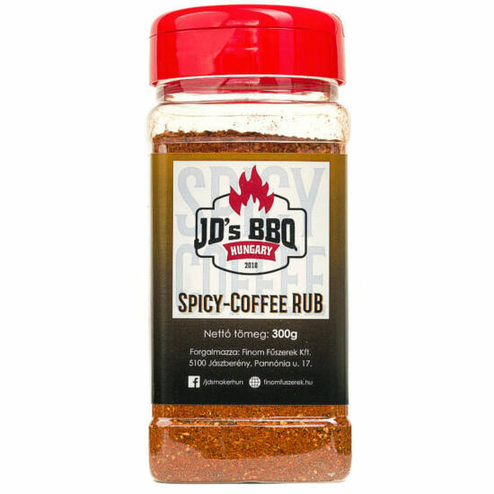 JD's Spicy Coffee Rub 300g