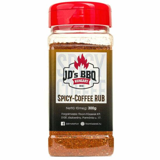 JD's Spicy Coffee Rub 300g