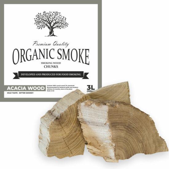 Akác füstölőfa csonk