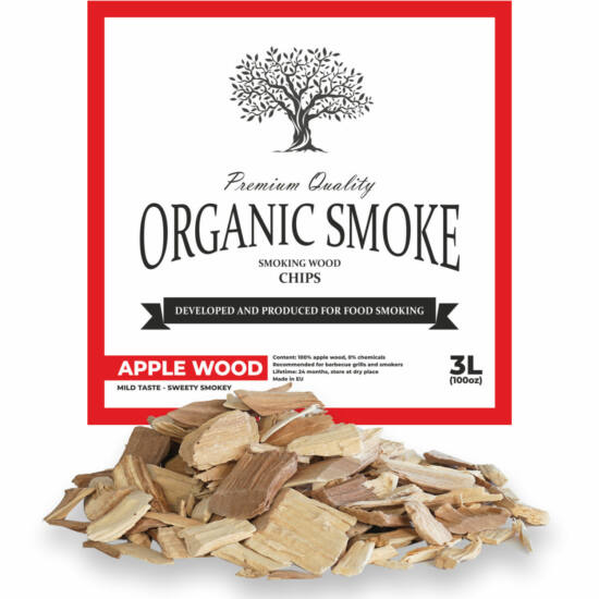 Almafa füstölőfa chips