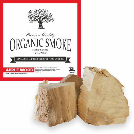 Almafa füstölőfa csonk