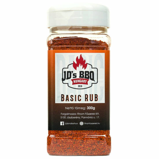 JD's Basic Rub 300g