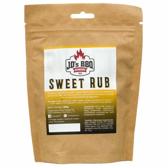 JD's Sweet Rub 100g