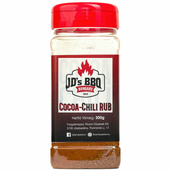 JD's Cocoa-Chili Rub 300g