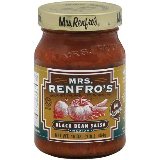 Mrs. Renfro's Black Bean Salsa 454g