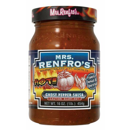 Mrs. Renfro's Ghost Pepper Salsa 454g
