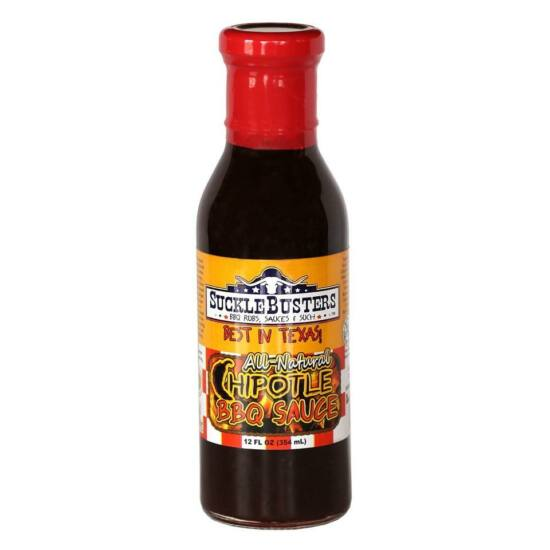 Suckle Busters Chipotle BBQ szósz 354ml