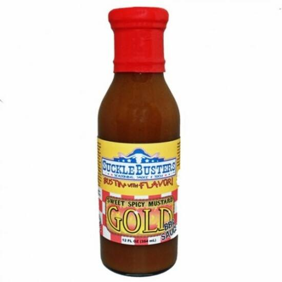 Suckle Busters Mustár Gold BBQ szósz 354ml