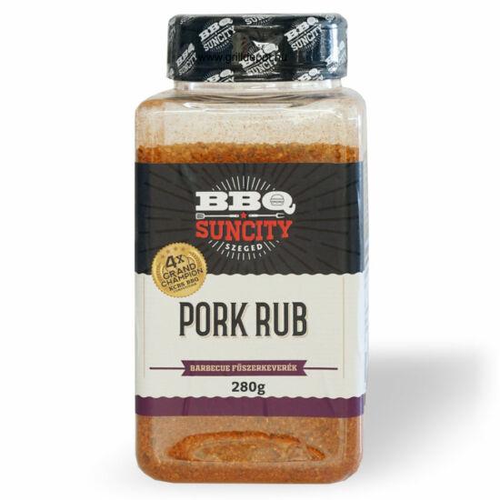 SunCity Pork Rub 280g fűszerkeverék
