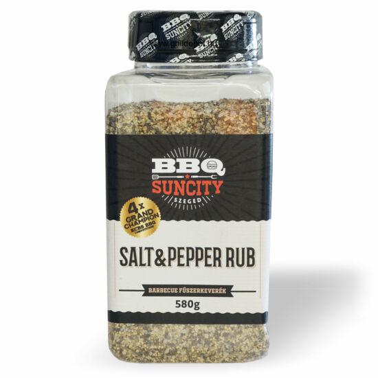 Suncity Salt & Pepper só-bors rub fűszerkeverék 580g