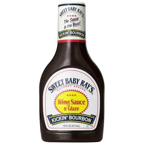 Sweet Baby Ray's Kickin' Bourbon BBQ szósz 473ml