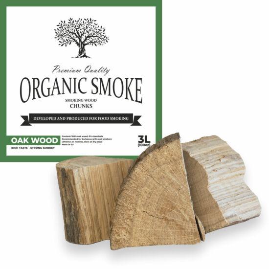 Tölgy füstölőfa csonk