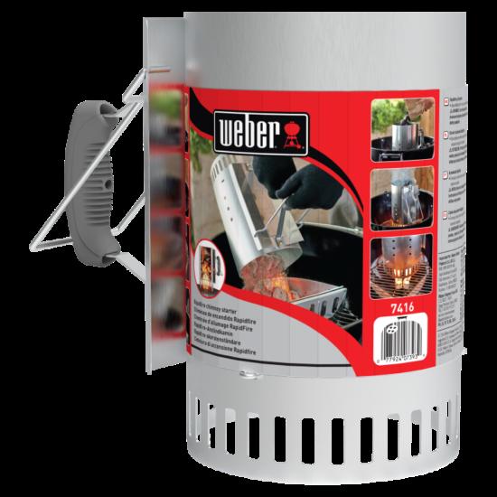 Weber Begyújtókémény Starter RapidFire